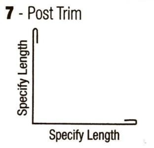 Post-Trim