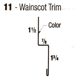 Wainscot-Trim
